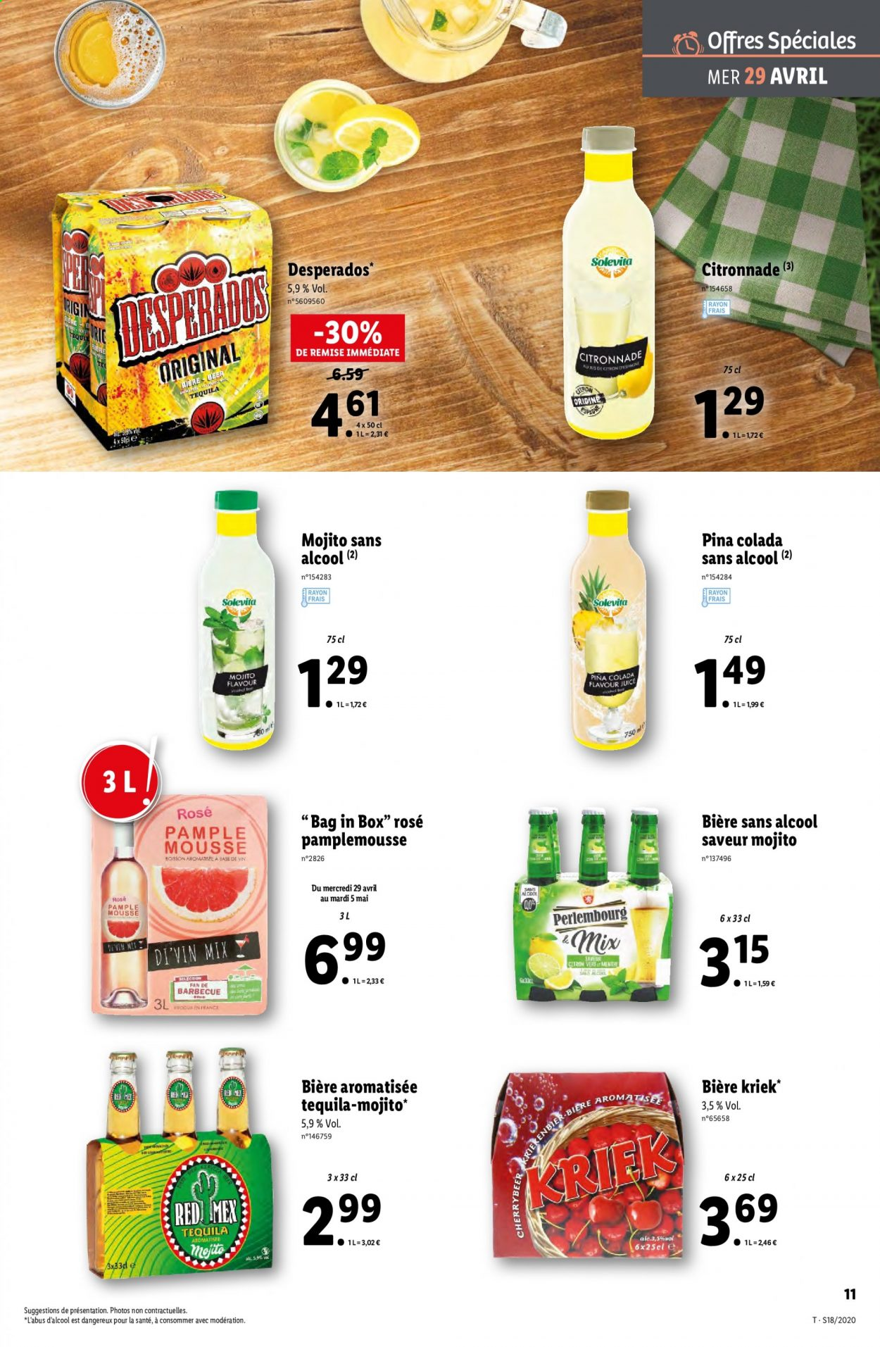 Catalogue Lidl - 29.04.2020 - 05.05.2020. Page 11.