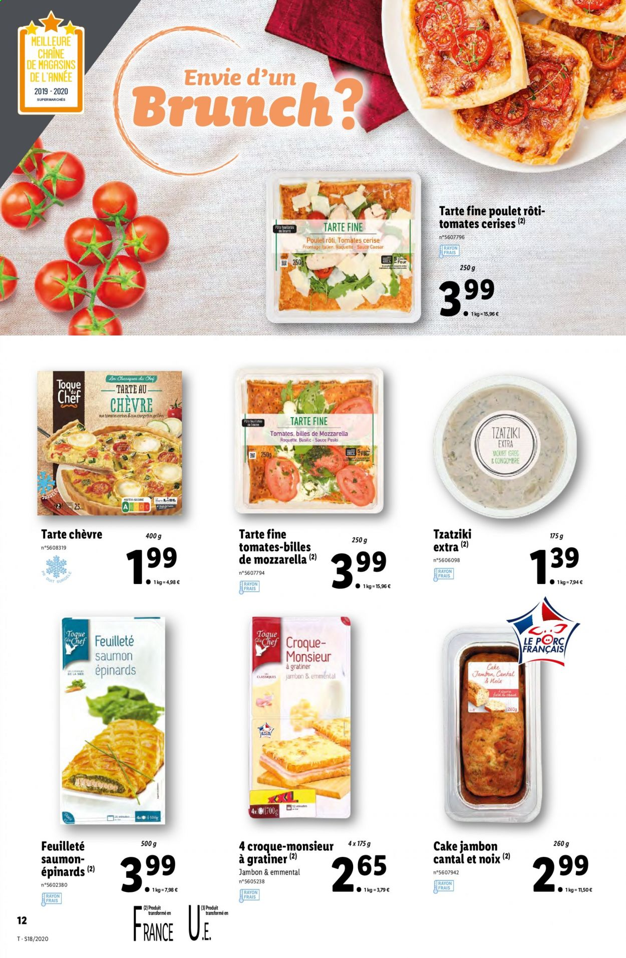 Catalogue Lidl - 29.04.2020 - 05.05.2020. Page 12.