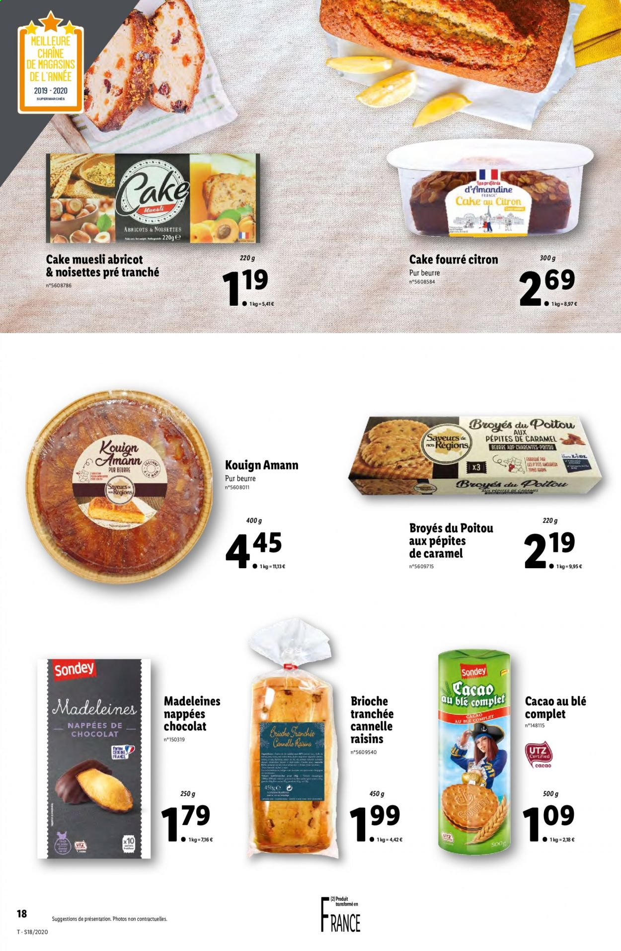 Catalogue Lidl - 29.04.2020 - 05.05.2020. Page 18.
