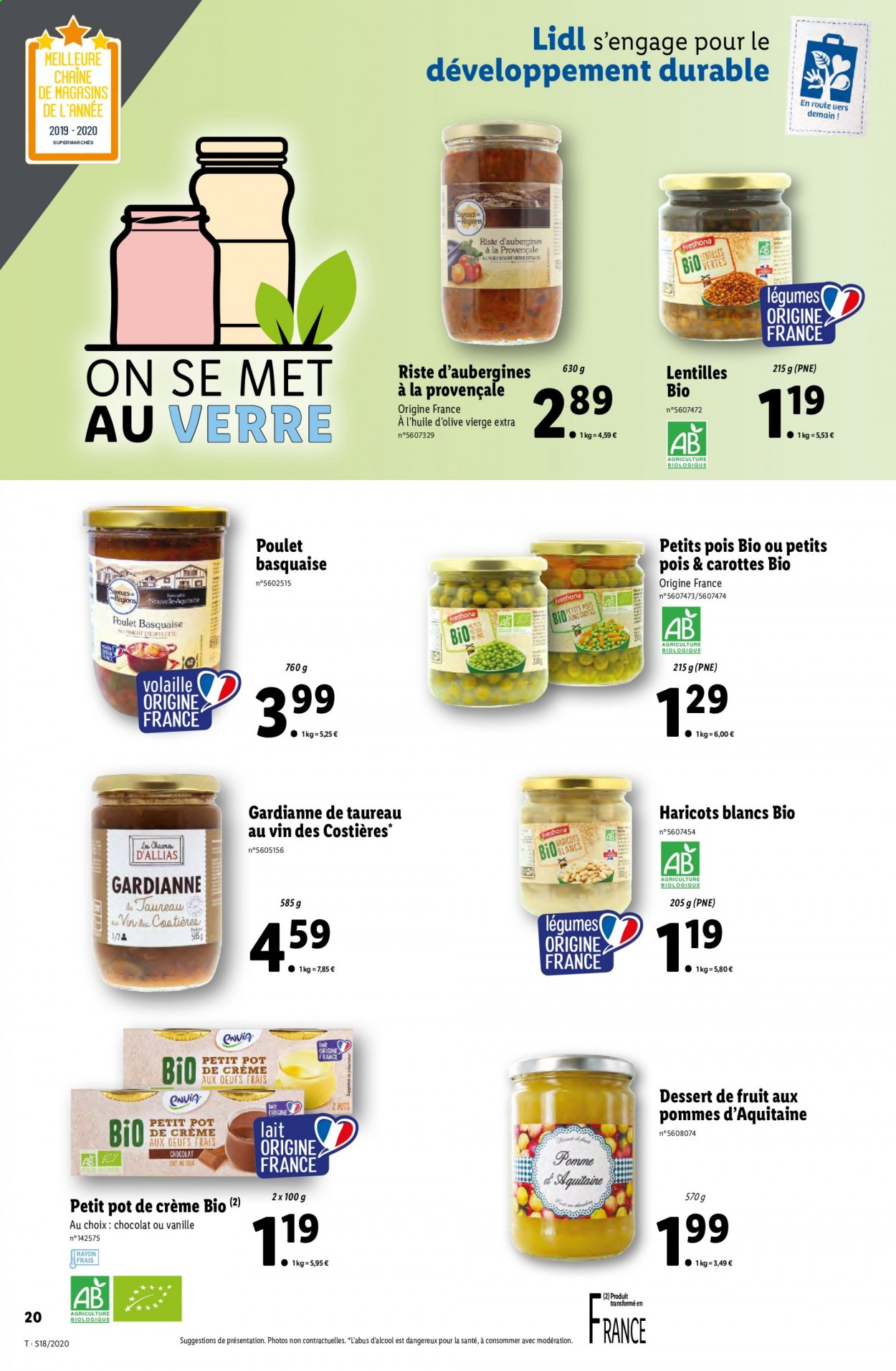 Catalogue Lidl - 29.04.2020 - 05.05.2020. Page 20.