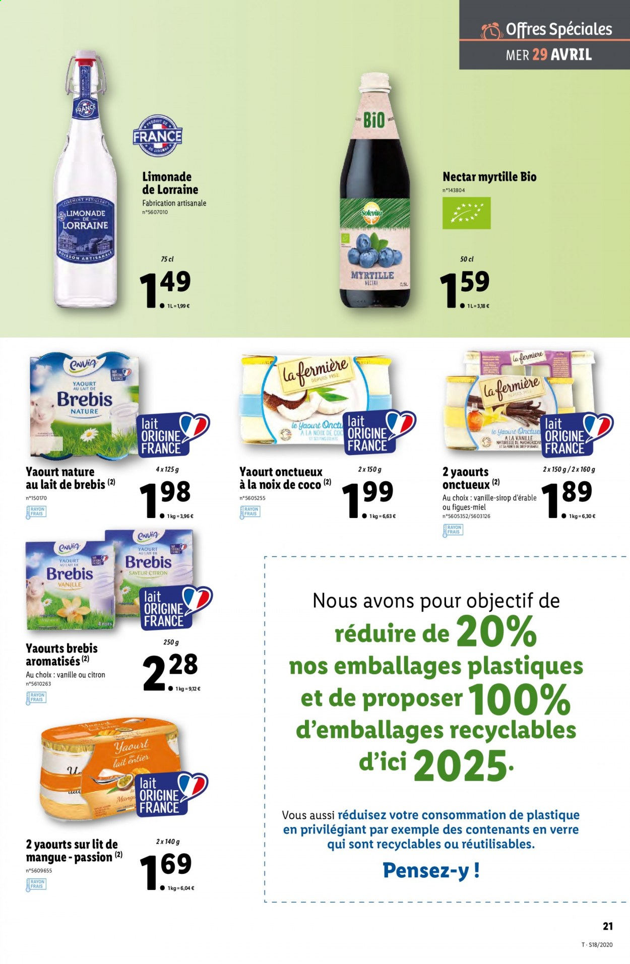 Catalogue Lidl - 29.04.2020 - 05.05.2020. Page 21.