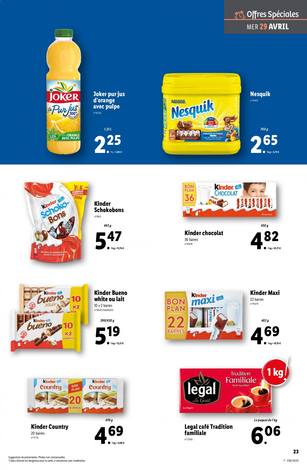 Catalogue Lidl - 29.04.2020 - 05.05.2020. Page 23.