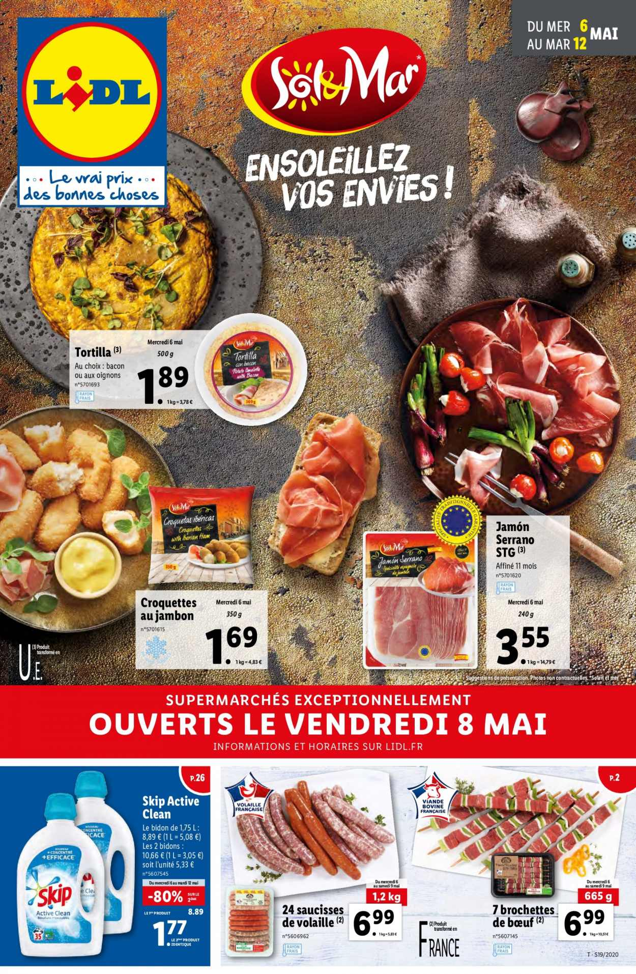 Catalogue Lidl - 06.05.2020 - 12.05.2020. Page 1.