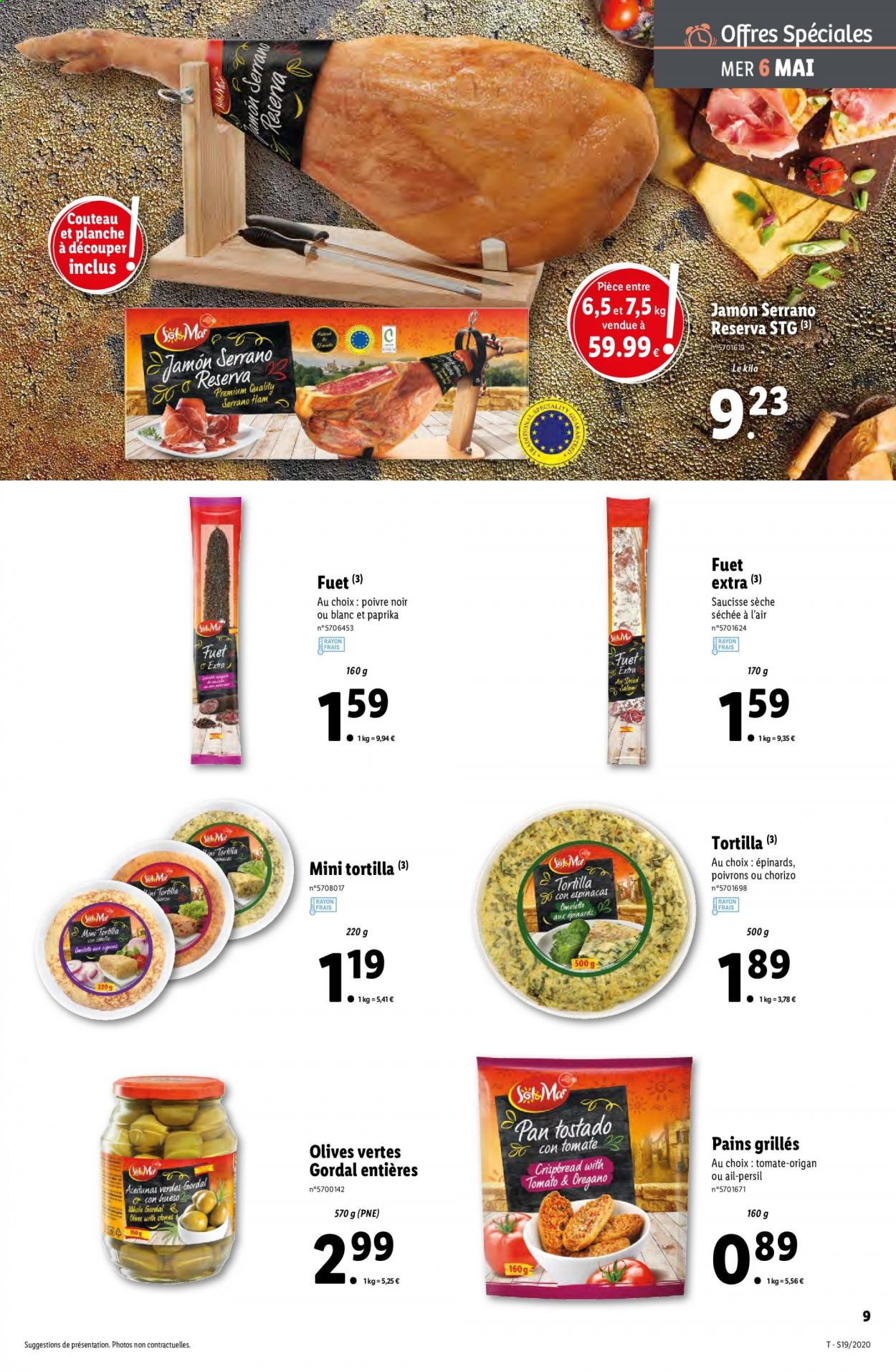 Catalogue Lidl - 06.05.2020 - 12.05.2020. Page 9.
