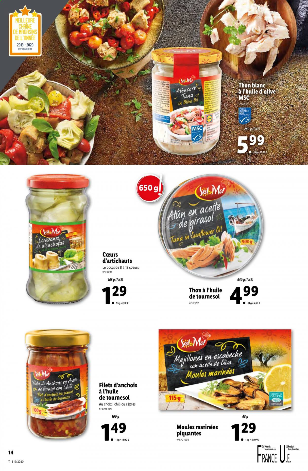 Catalogue Lidl - 06.05.2020 - 12.05.2020. Page 14.