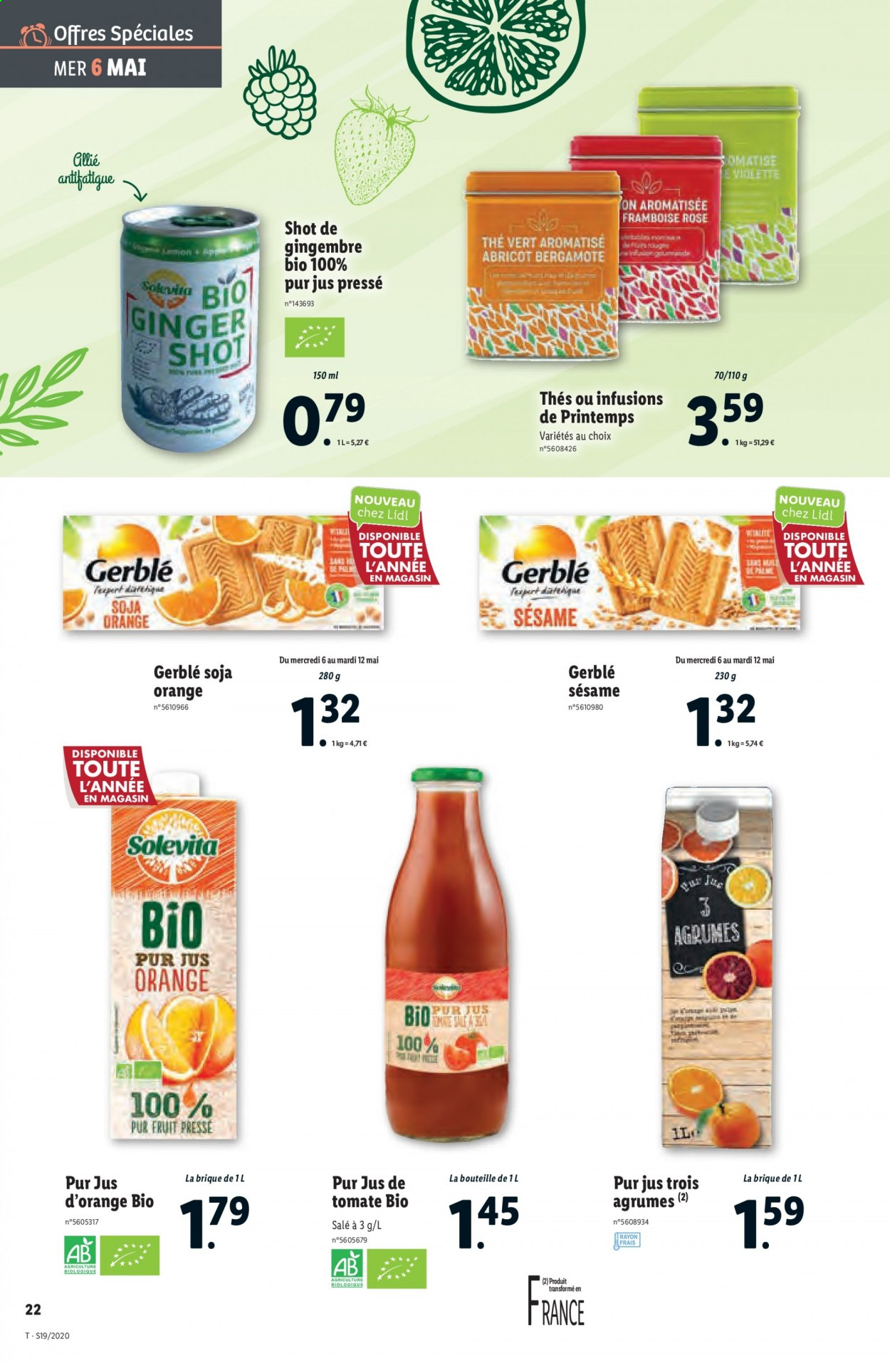 Catalogue Lidl - 06.05.2020 - 12.05.2020. Page 22.
