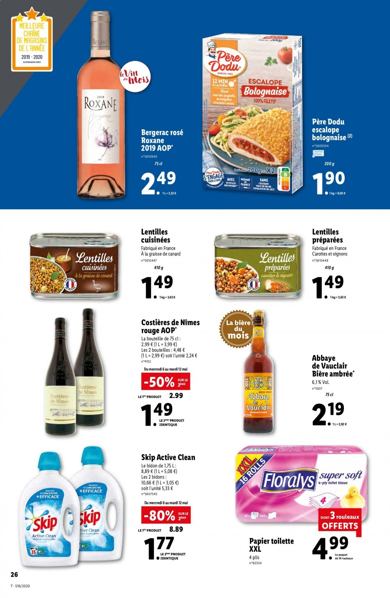 Catalogue Lidl - 06.05.2020 - 12.05.2020. Page 26.