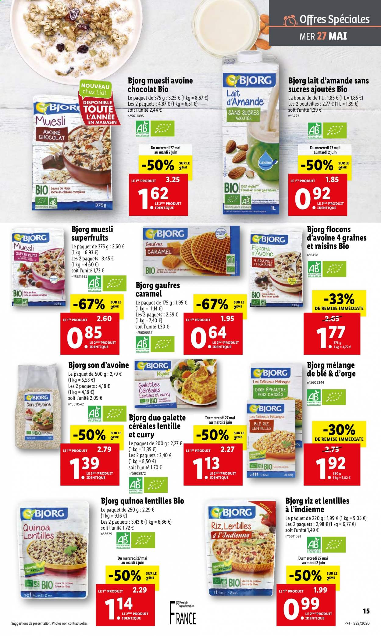 Catalogue Lidl - 27.05.2020 - 02.06.2020. Page 15.