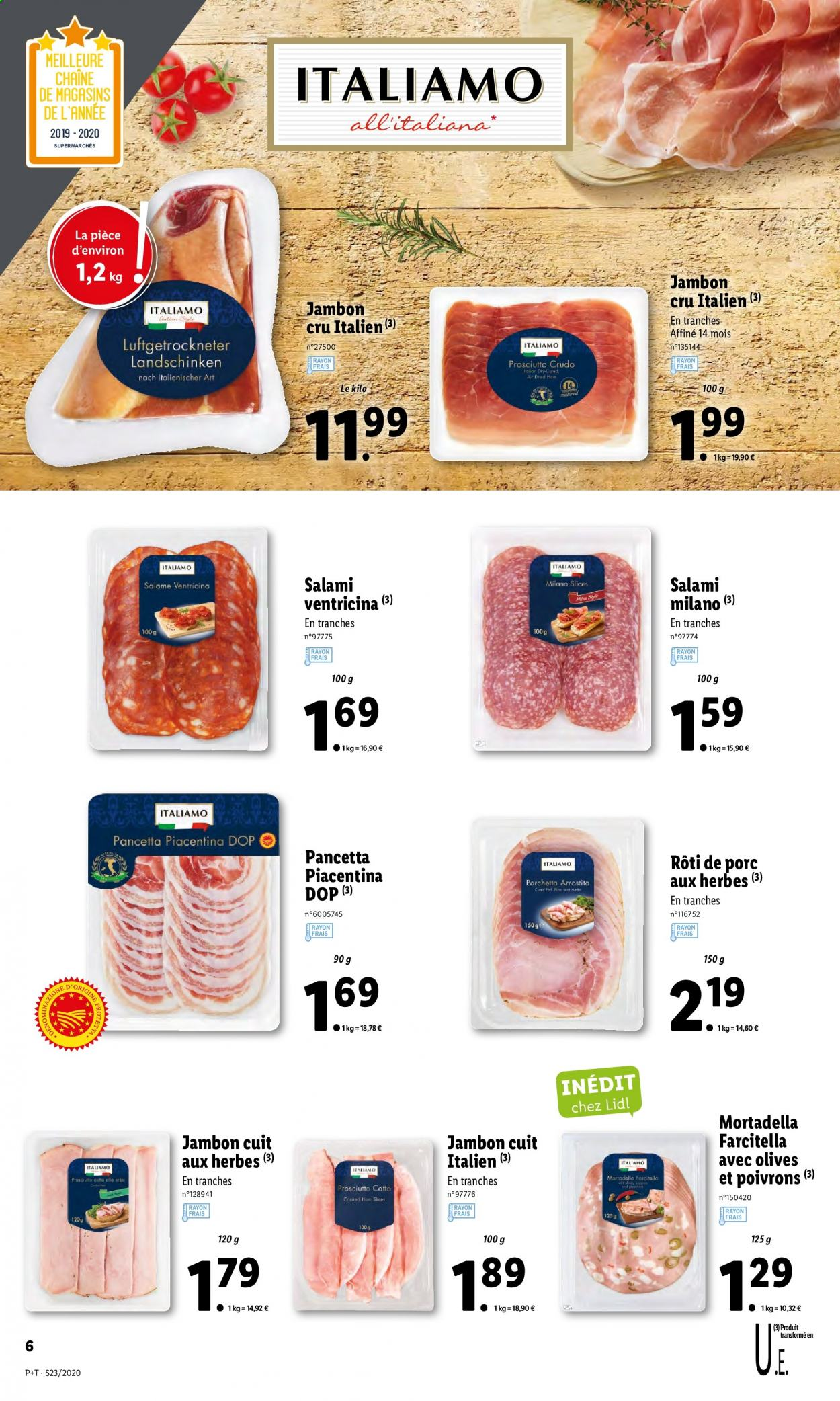 Catalogue Lidl - 03.06.2020 - 09.06.2020. Page 6.