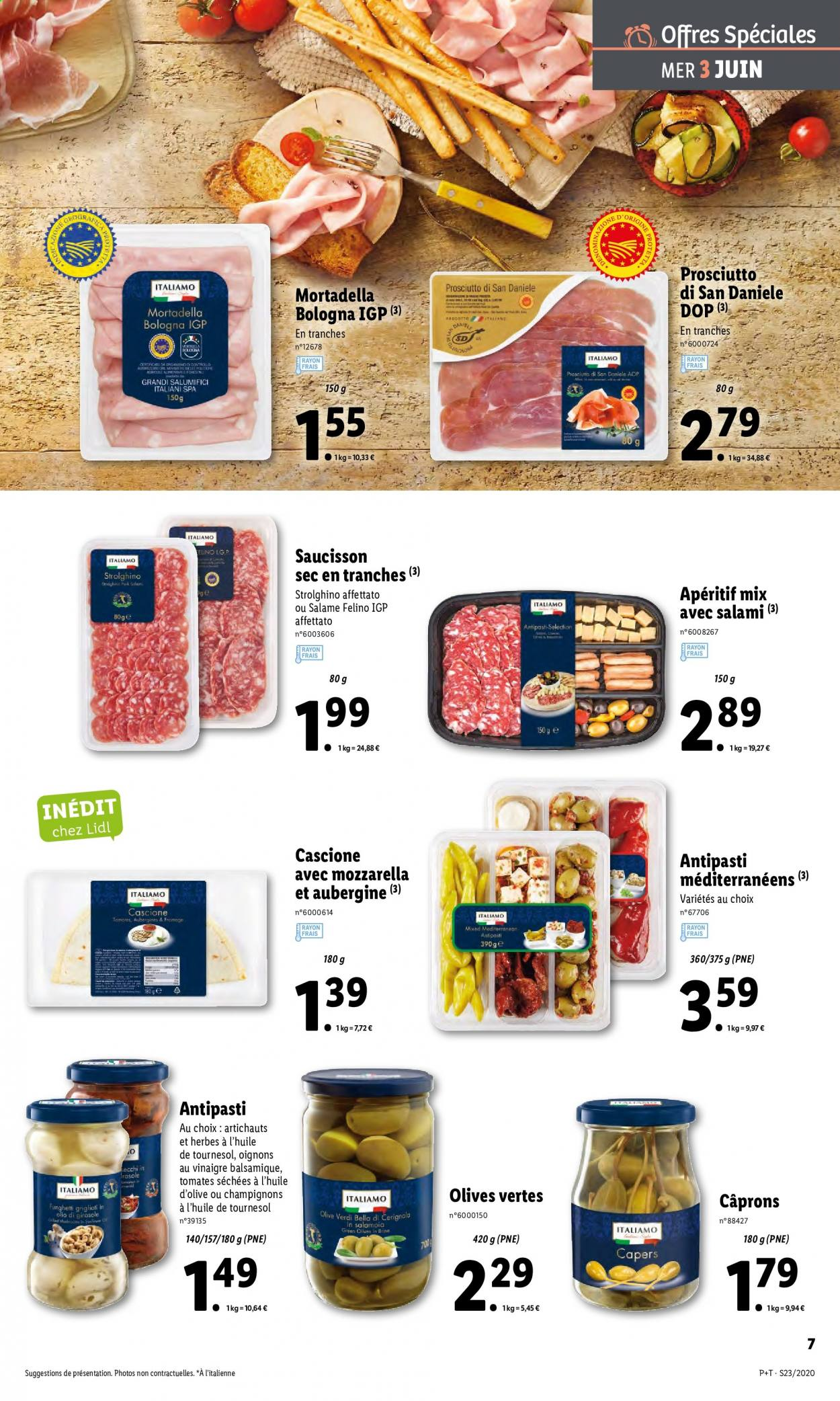 Catalogue Lidl - 03.06.2020 - 09.06.2020. Page 7.