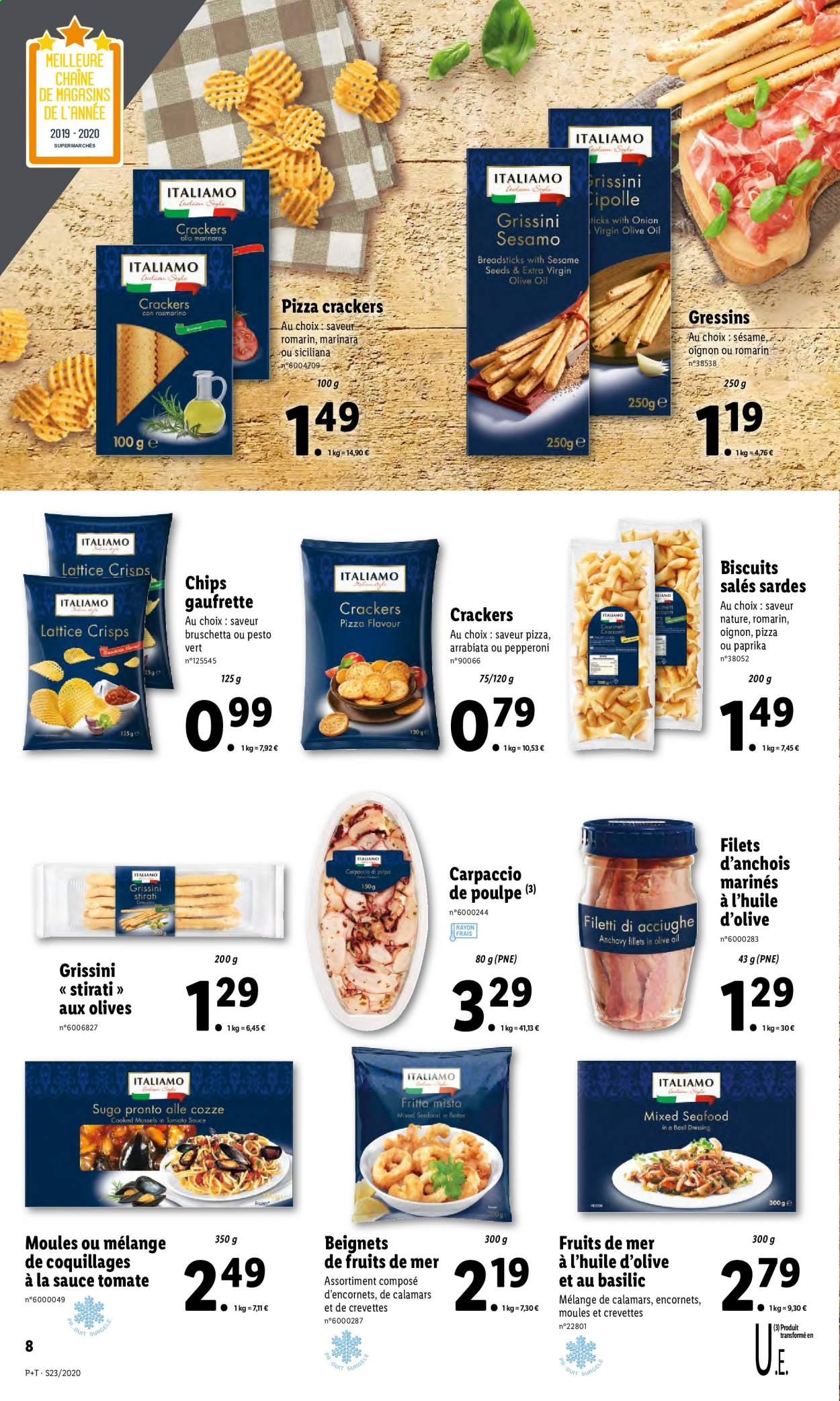 Catalogue Lidl - 03.06.2020 - 09.06.2020. Page 8.