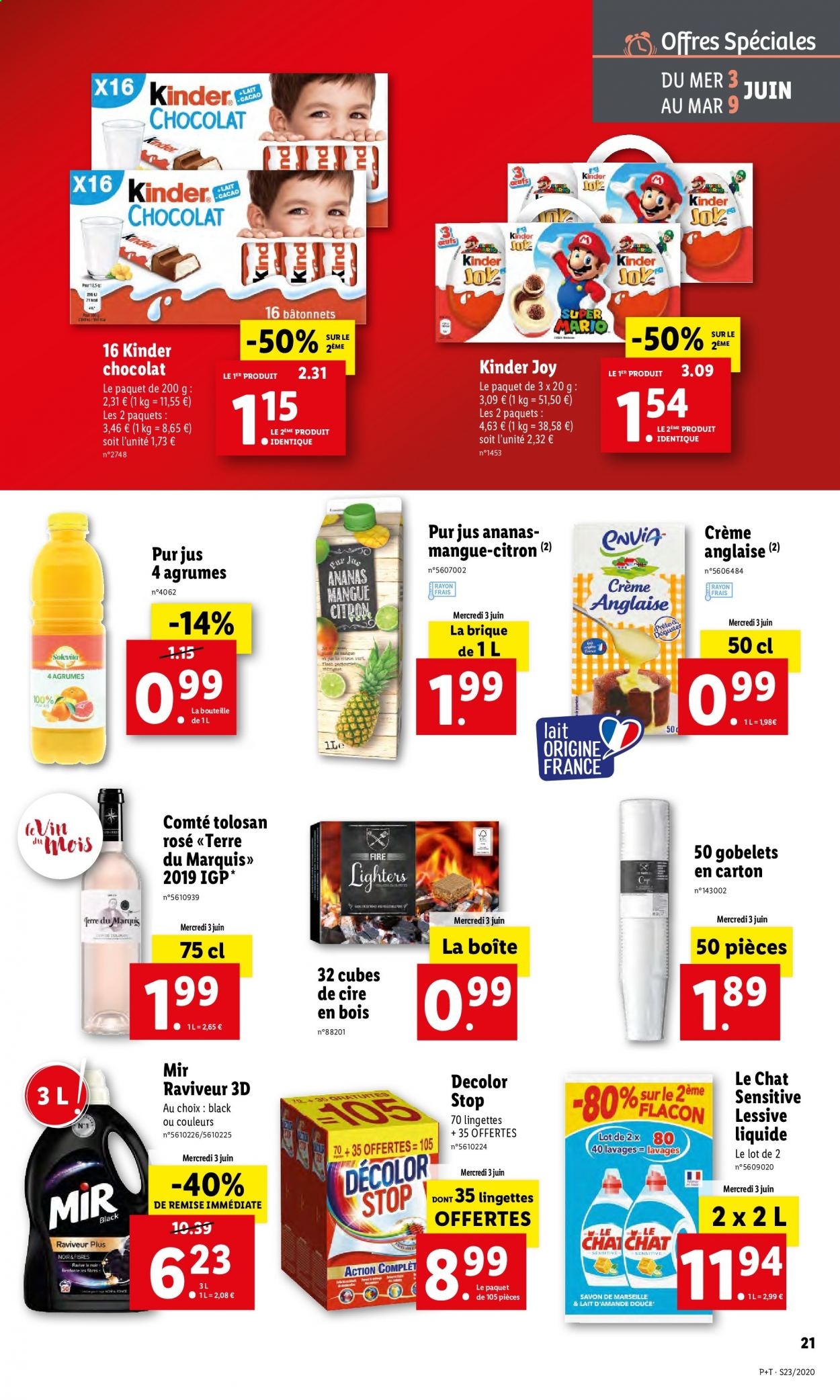 Catalogue Lidl - 03.06.2020 - 09.06.2020. Page 21.