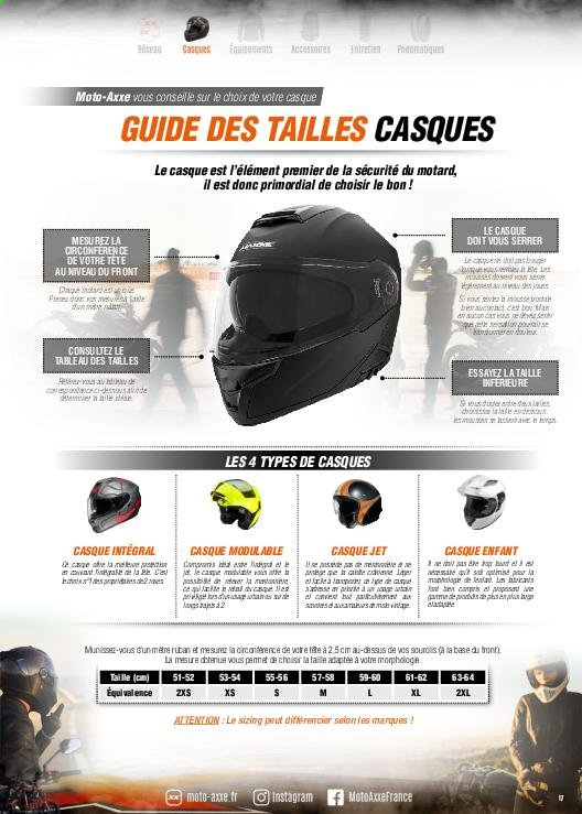 Catalogue Moto Axxe. Page 17.