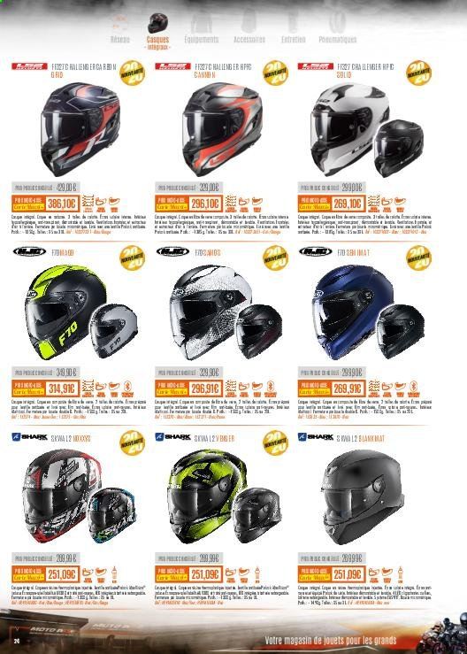 Catalogue Moto Axxe. Page 24.