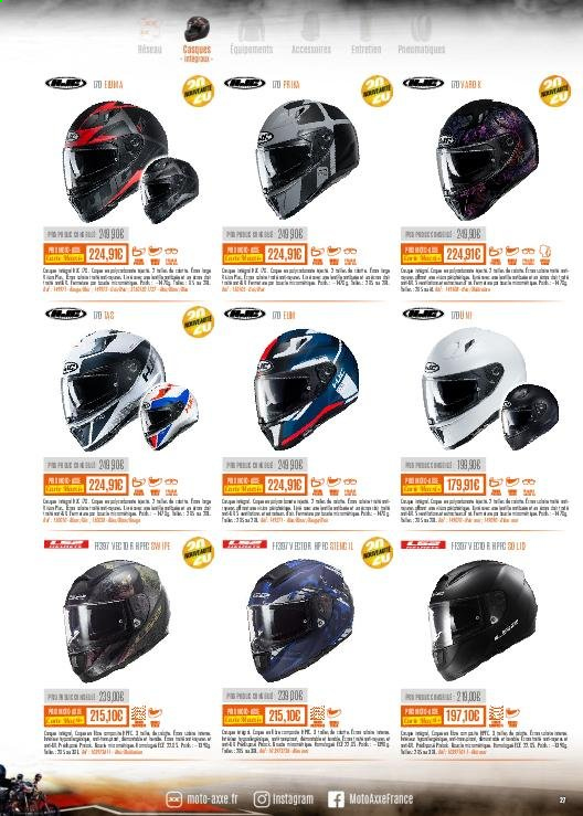 Catalogue Moto Axxe. Page 27.