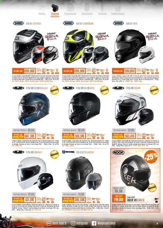 Catalogue Moto Axxe. Page 37.