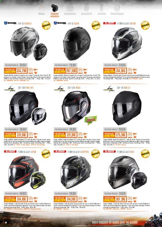 Catalogue Moto Axxe. Page 38.