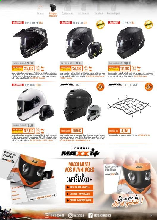 Catalogue Moto Axxe. Page 41.