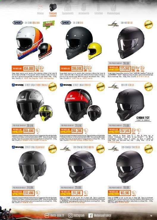 Catalogue Moto Axxe. Page 43.