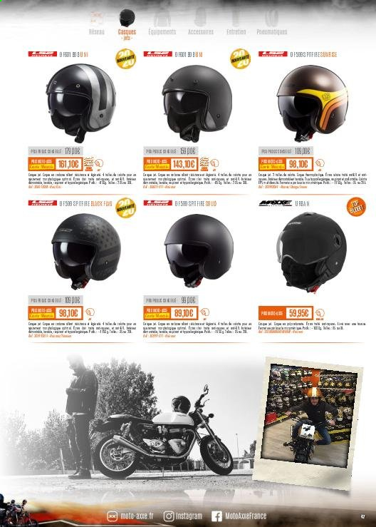 Catalogue Moto Axxe. Page 47.