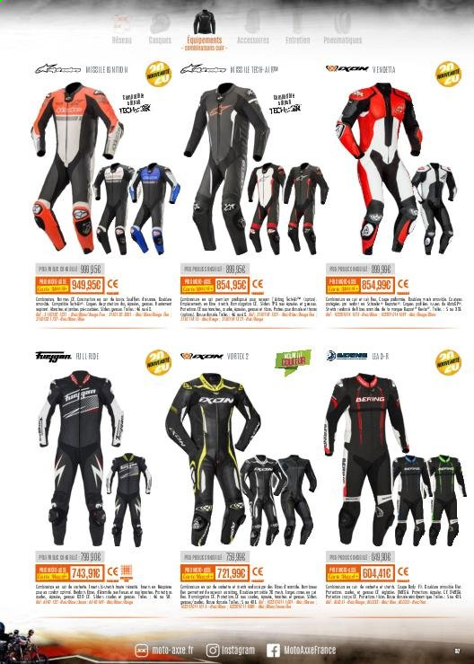 Catalogue Moto Axxe. Page 57.