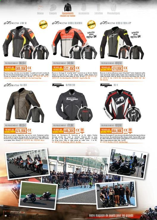 Catalogue Moto Axxe. Page 58.