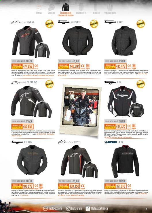 Catalogue Moto Axxe. Page 59.