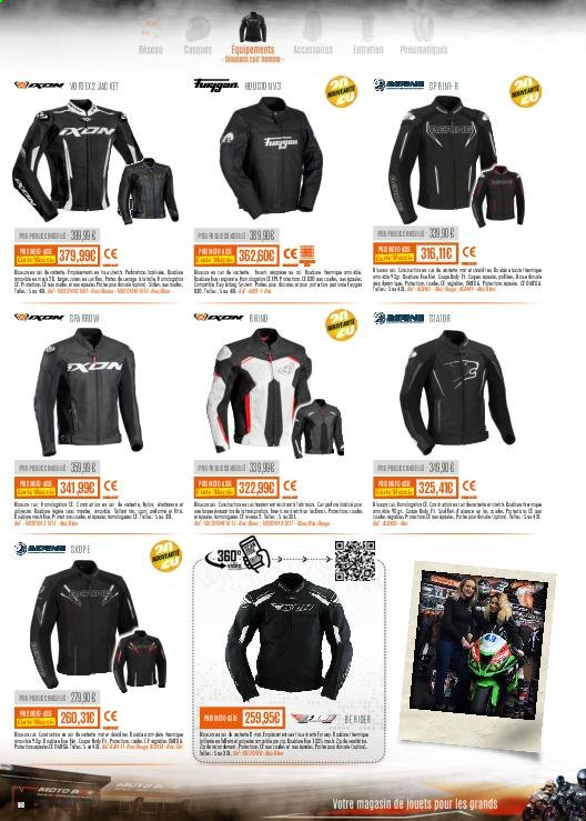 Catalogue Moto Axxe. Page 60.