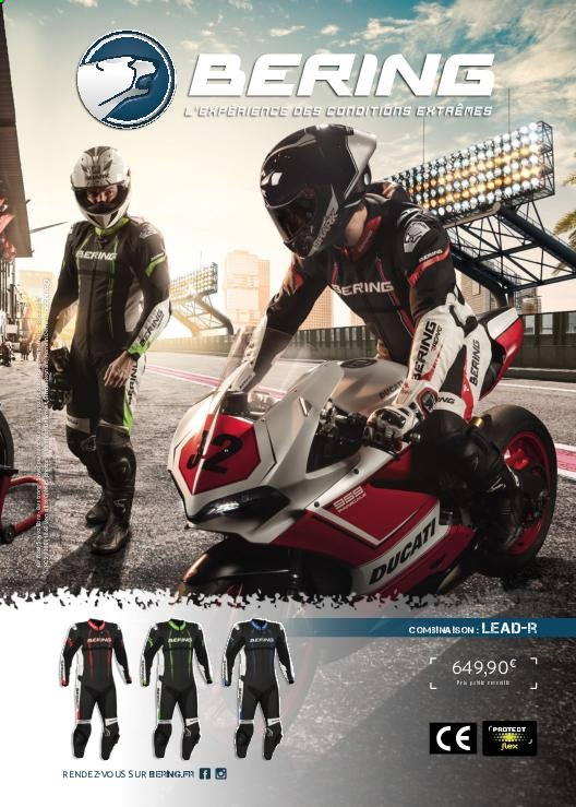 Catalogue Moto Axxe. Page 61.
