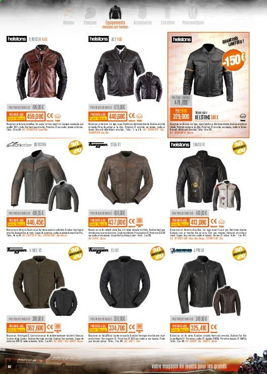 Catalogue Moto Axxe. Page 62.