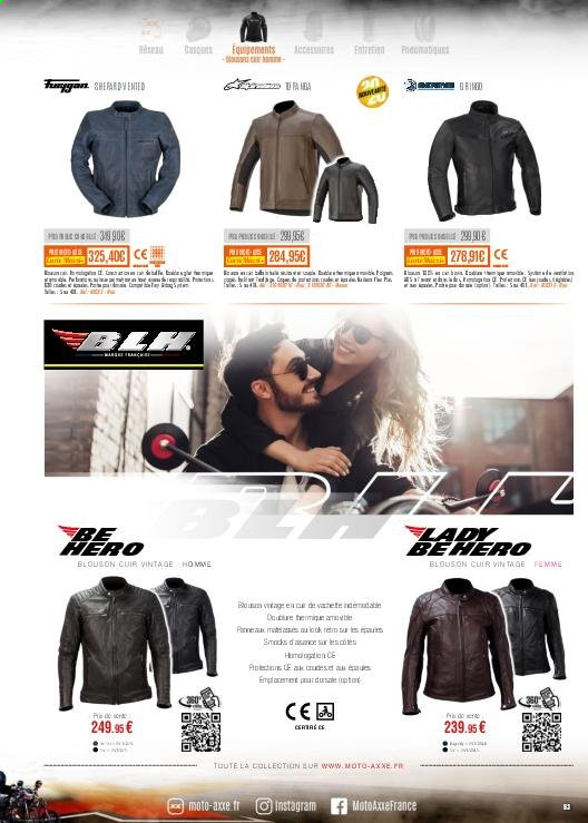 Catalogue Moto Axxe. Page 63.