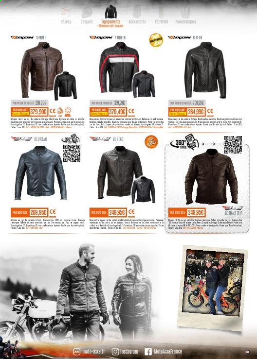 Catalogue Moto Axxe. Page 65.