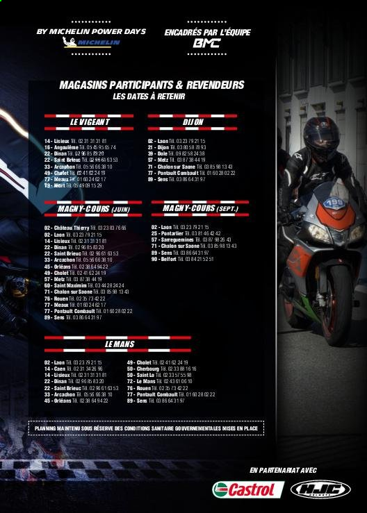 Catalogue Moto Axxe. Page 67.