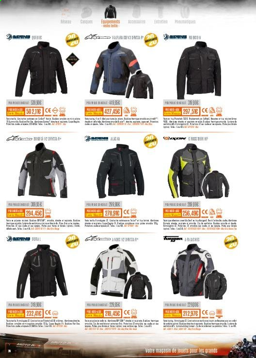 Catalogue Moto Axxe. Page 76.