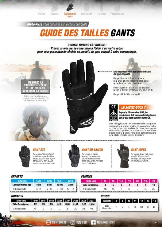 Catalogue Moto Axxe. Page 83.