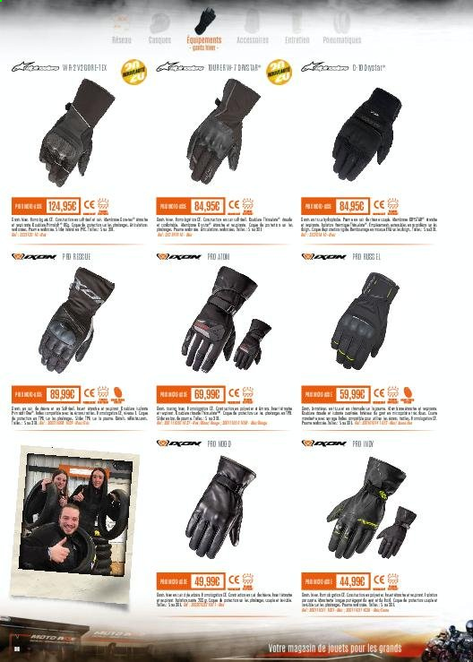Catalogue Moto Axxe. Page 96.
