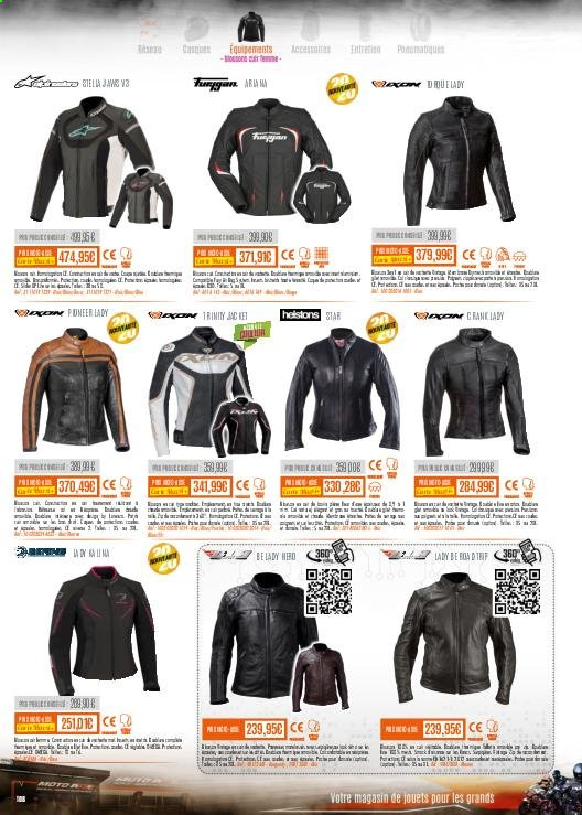 Catalogue Moto Axxe. Page 108.