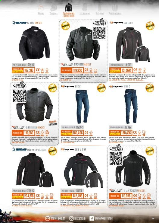 Catalogue Moto Axxe. Page 121.