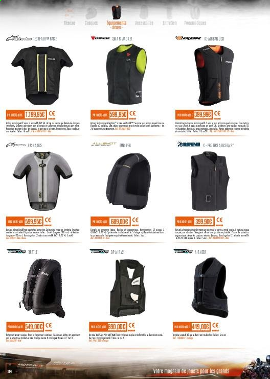 Catalogue Moto Axxe. Page 124.