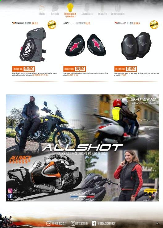 Catalogue Moto Axxe. Page 125.