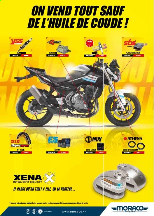 Catalogue Moto Axxe. Page 153.