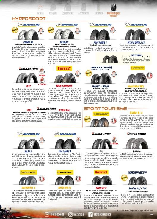 Catalogue Moto Axxe. Page 189.