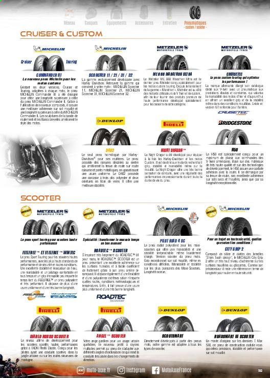 Catalogue Moto Axxe. Page 193.
