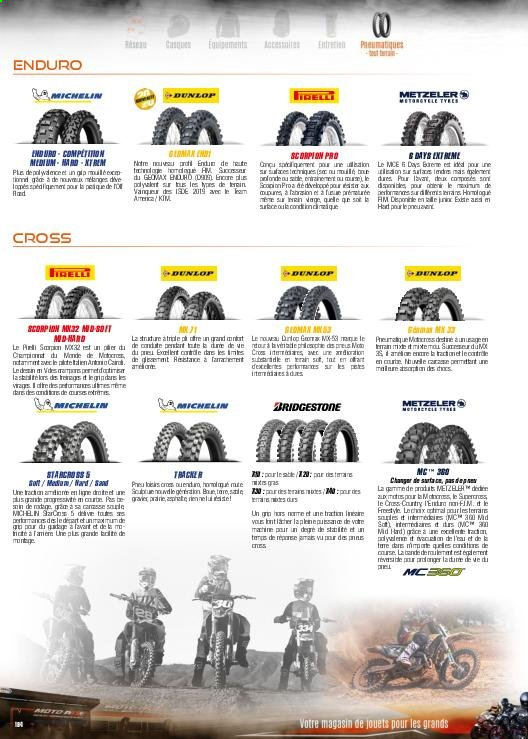 Catalogue Moto Axxe. Page 194.