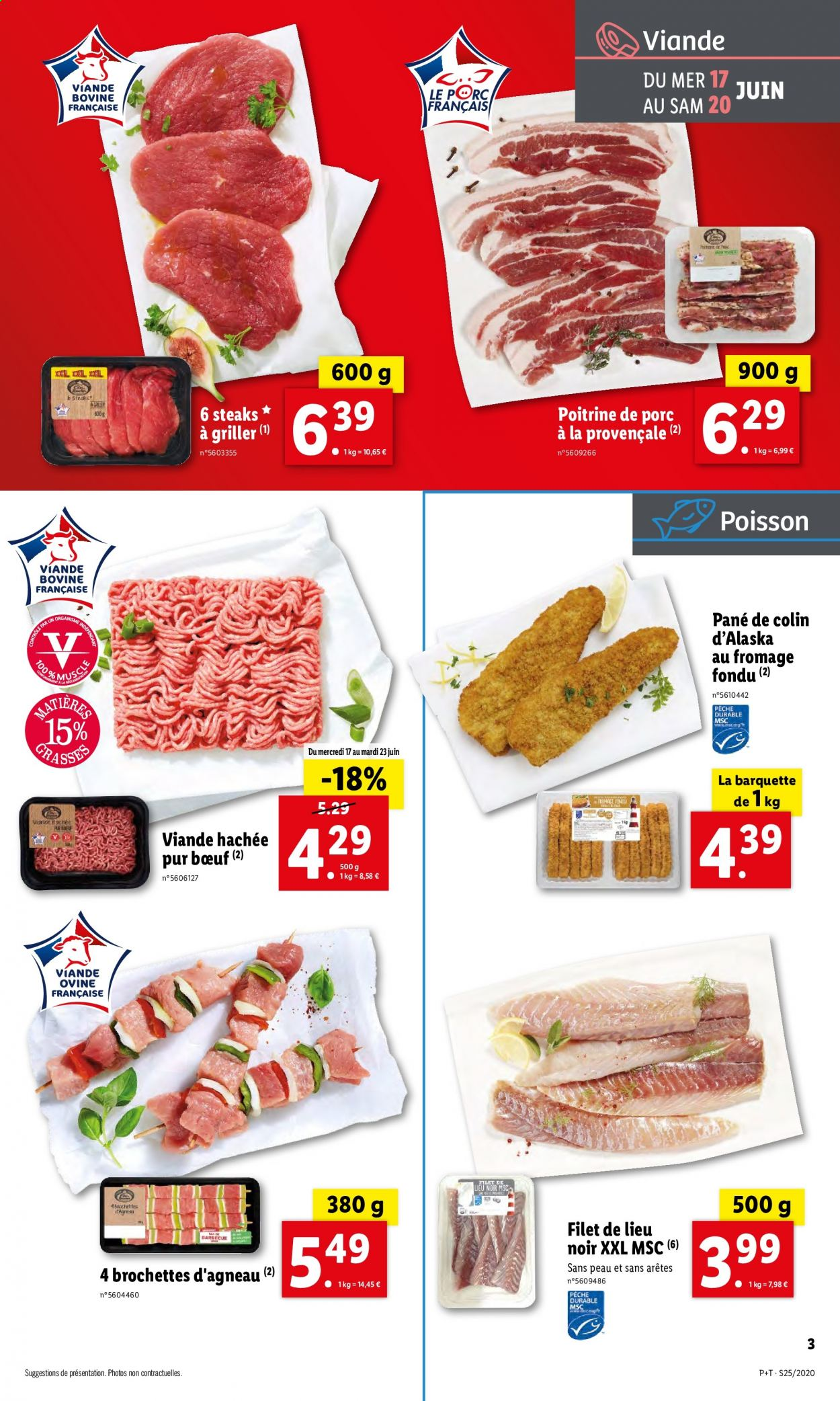 Catalogue Lidl - 17.06.2020 - 23.06.2020. Page 3.