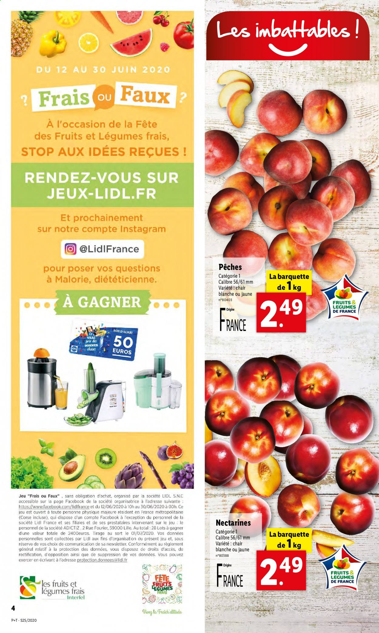 Catalogue Lidl - 17.06.2020 - 23.06.2020. Page 4.