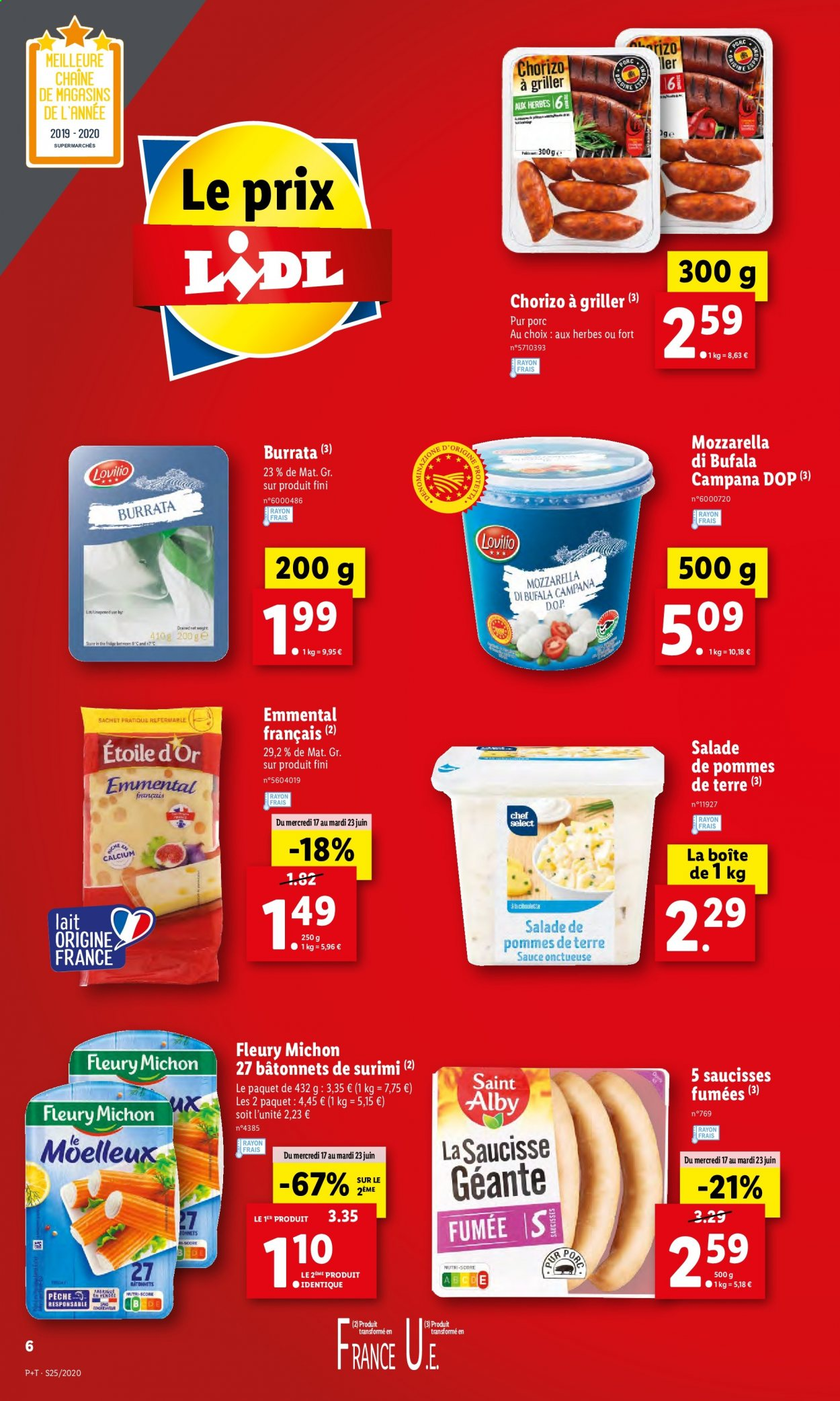 Catalogue Lidl - 17.06.2020 - 23.06.2020. Page 6.