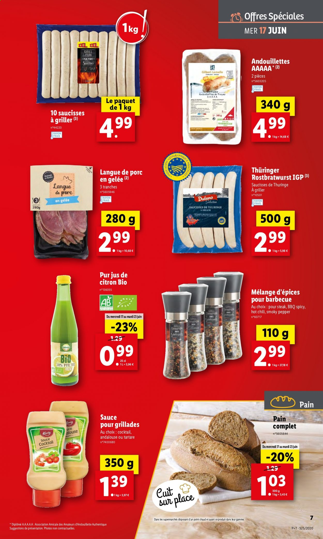 Catalogue Lidl - 17.06.2020 - 23.06.2020. Page 7.