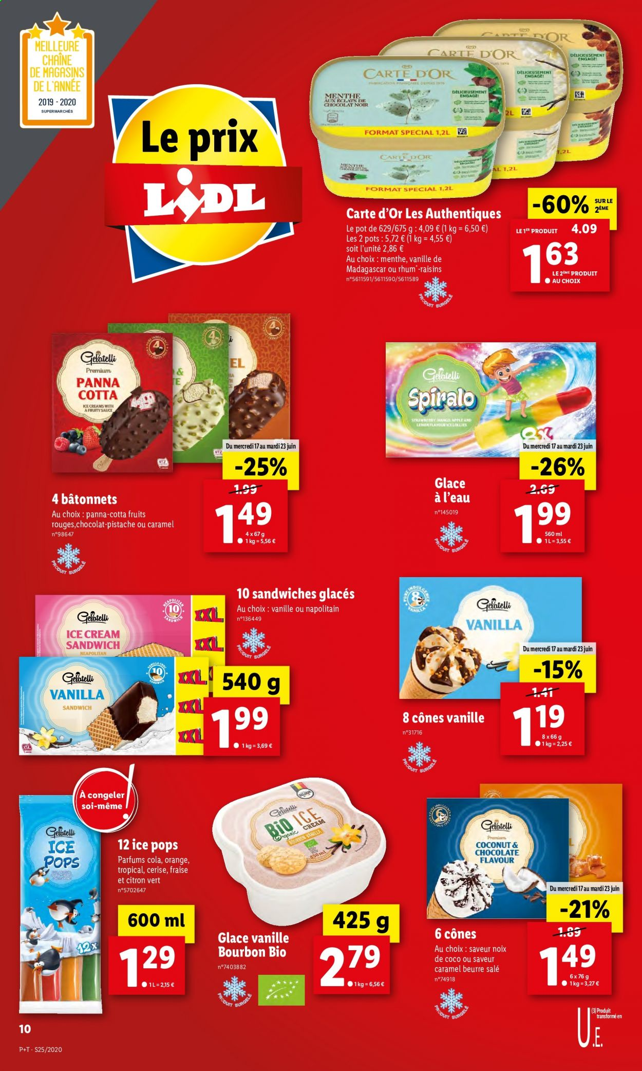 Catalogue Lidl - 17.06.2020 - 23.06.2020. Page 10.
