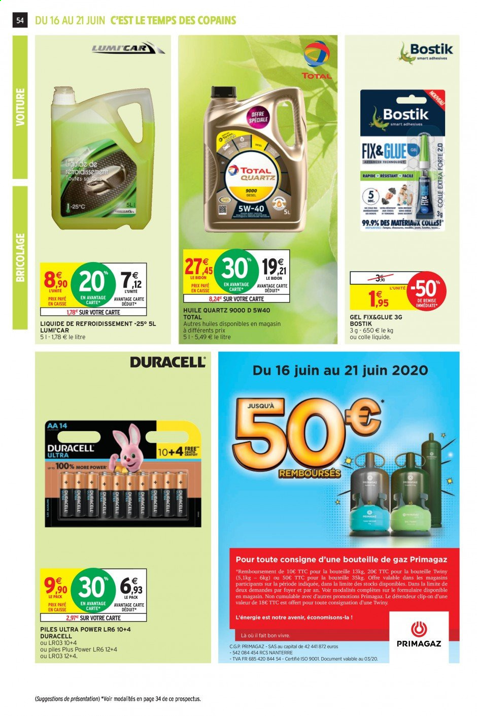 Catalogue Intermarché - 16.06.2020 - 21.06.2020. Page 53.